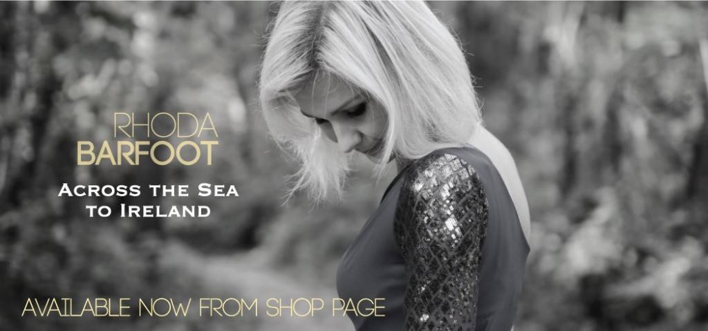 Rhoda Barfoot Across the Sea to Ireland Available Now Banner
